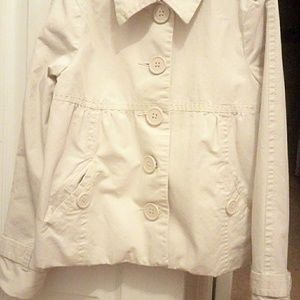 Girls Old Navy Trench Style Jacket